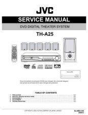 Buy JVC TH-A25-8 Service Manual by download Mauritron #283685