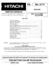 Buy Hitachi PA0113 Service Manual by download Mauritron #323223