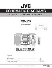 Buy JVC MX-JD3-6 Service Manual by download Mauritron #282887