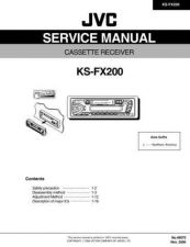 Buy JVC KS-FX200 Service Manual by download Mauritron #282426