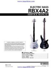 Buy Yamaha RBX4A2 Manual by download Mauritron #321703