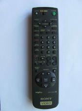 Buy REMOTE CONTROLLER SONY RMT-V203A tv SLV 495 685HF 675HF 676HF VCR Plus 147503221