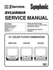 Buy Symphonic 6313CE Service Manual by download Mauritron #331062