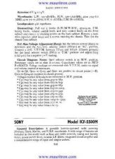Buy Sony ICF-SW7600 by download Mauritron #315824