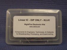 Buy Linear IC DIP-Only Design Kit #1 with PCB (#1305)