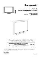 Buy Panasonic TC-26_32LX1H_CHI_819 Manual by download Mauritron #301883