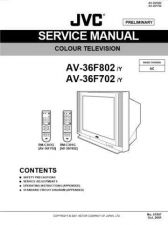 Buy JVC AV-36F802 Service Manual by download Mauritron #322446