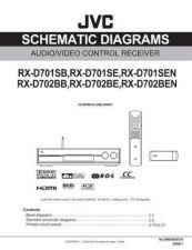 Buy JVC RX-D701S-RX-D702B-8 Service Manual by download Mauritron #276557
