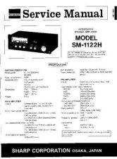 Buy JVC SM1122H SM GB(1) Service Manual by download Mauritron #283400