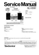 Buy Sharp SL-HD81 Manual by download Mauritron #298567