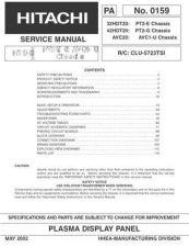 Buy Hitachi CLU-5715TSI Service Manual by download Mauritron #288917