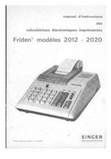 Buy Singer Friden 2012-2020 French by download Mauritron #327930