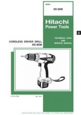 Buy Hitachi DS9DM Tool Service Manual by download Mauritron #319887