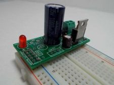 Buy Pre-Built Solderless Breadboard +5v Power Supply Kit