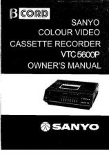 Buy Sanyo VTC5600P Operating Guide by download Mauritron #337974