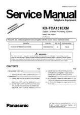 Buy Panasonic KX-TCA150EM Manual by download Mauritron #299849