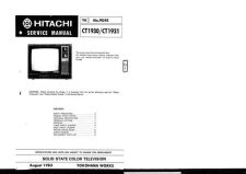 Buy Hitachi CT2542 Service Manual by download Mauritron #289558
