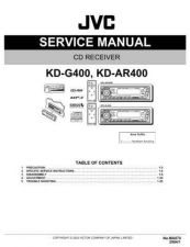 Buy JVC KD-G400 Service Manual by download Mauritron #274999