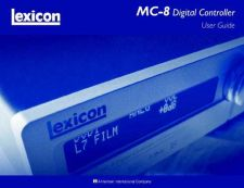 Buy Lexicon 07015481 MC8 User Guide r1 by download Mauritron #316089