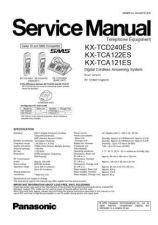 Buy Panasonic KX-TCA120EXB-------------------- Manual by download Mauritron #299631