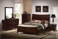 Buy CHERRY BEDROOM FURNITURE 10 12 INCH MATTRESS 6PC ANTIQUE QUEEN BEDROOM SET F9172