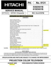 Buy Hitachi PA0131 Service Manual by download Mauritron #331862