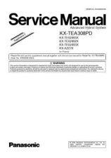 Buy Panasonic TEA308PD_2 Manual by download Mauritron #302240