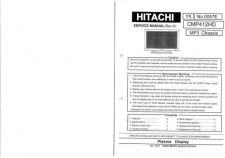 Buy Hitachi MP3 CHASSIS Service Manual by download Mauritron #285405