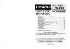 Buy Hitachi C50-FD7000 Service Manual by download Mauritron #288721