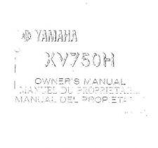 Buy Yamaha 5E4-28199-20 Motorcycle Manual by download #334389