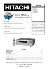 Buy Hitachi HTADD3EBS Service Manual by download Mauritron #290427