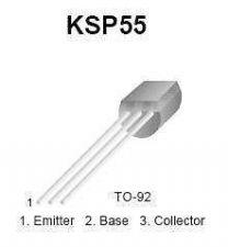 Buy Transistor - KSP55 PNP Amplifier (TO-92) - 20 Pieces
