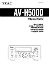 Buy Teac AVH500EFGIS Operating Guide by download Mauritron #318356