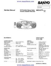 Buy Sanyo MCD-Z77L by download Mauritron #320322