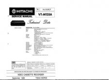 Buy Hitachi VTM190A Service Manual by download Mauritron #287337