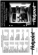 Buy Hotpoint 6980 Refrigeration Operating Guide by download Mauritron #313316