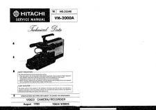Buy Hitachi VM5000A2 Service Manual by download Mauritron #290996