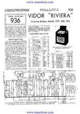 Buy VIDOR. 380. Vintage Service Information. by download Mauritron #315253