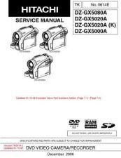 Buy Hitachi DZMV238EAU-3 Service Manual by download Mauritron #289988