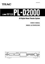 Buy Teac PL-D2100mk2E HK-B Operating Guide by download Mauritron #319158
