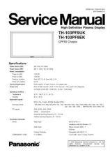 Buy Panasonic TH-103PF9EK Manual by download Mauritron #302317