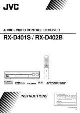 Buy JVC RX-D401S - RX-D402B Service Manual by download Mauritron #283255