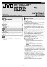 Buy JVC HR-P56A Service Manual by download Mauritron #281421