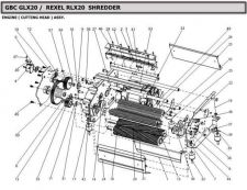 Buy Office Equipment GLX20 RLX20 PARTS by download #335439