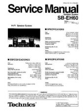 Buy Technics SB-EH60_PAES970210C6000125 by download Mauritron #306579