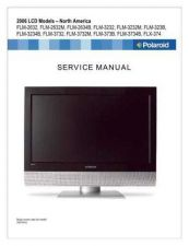 Buy Polaroid FLM373B Television Service Manual by download Mauritron #322143