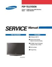 Buy Samsung PS42C7HD Service Manual by download Mauritron #322798