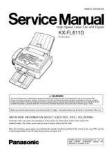 Buy Panasonic FL611G Manual by download Mauritron #299226