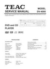 Buy Teac DV-H500 Service Manual by download Mauritron #319379