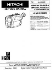 Buy Hitachi VM2500A1 Service Manual by download Mauritron #290969